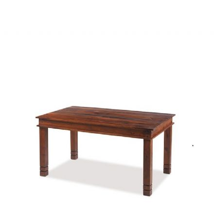 Jali Sheesham Wood Chunky Dining Table 180cm